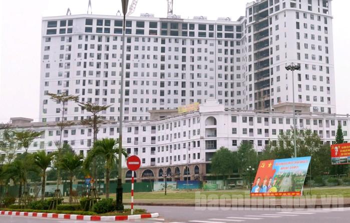 Dự án Royal Park Bắc Ninh đang được tích cực thi công hoàn thiện.