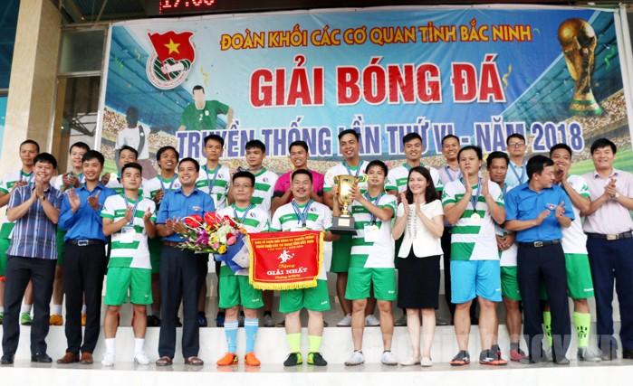 Sở Tài nguyên và Môi trường vô địch Giải bóng đá truyền thống Đoàn khối Các cơ quan tỉnh