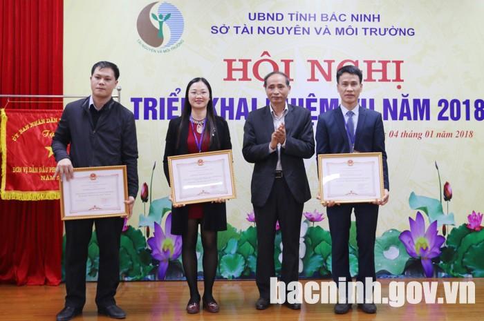 Bắc Ninh: Sở Tài nguyên và Môi trường triển khai nhiệm vụ năm 2018